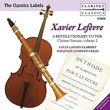 Lefèvre: Clarinet Sonatas, Vol. 2 – A Revolutionary Tutor