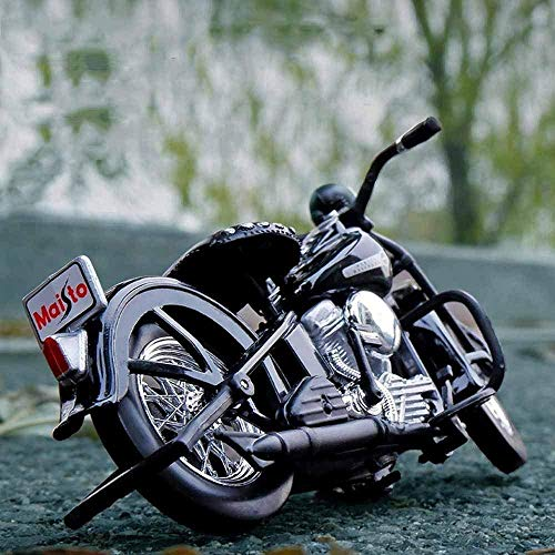 1948 FL Panhead 1:18 Modelo de aleación Motocicleta Metal Scooter de fundición Miniauto Adult Colección Ornamentos Niños S Toys Regalos Excellent
