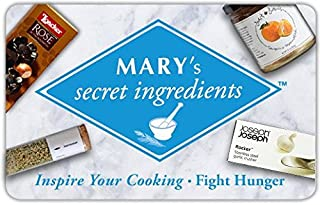 MARY's secret ingredients gift card