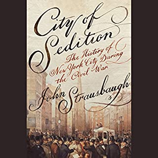 City of Sedition audiobook cover art