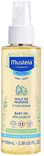 Mustela Baby Oil, for Normal Skin, Moisturising Oil for Massage, 100 ml (Pack of 1)