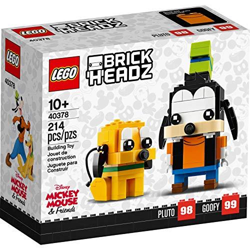 LEGO Disney Brick Headz Pluto Goofy Set 40378
