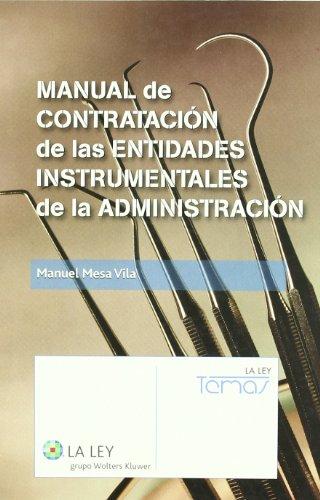 Manual de Contratación de las entidades instrumentales de l