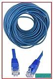 PTC 50FT Blau Cat5e Premium EIA/TIA verifiziert UTP Netzwerk DSL Kabel Modem, X-Box Kabel und mit...
