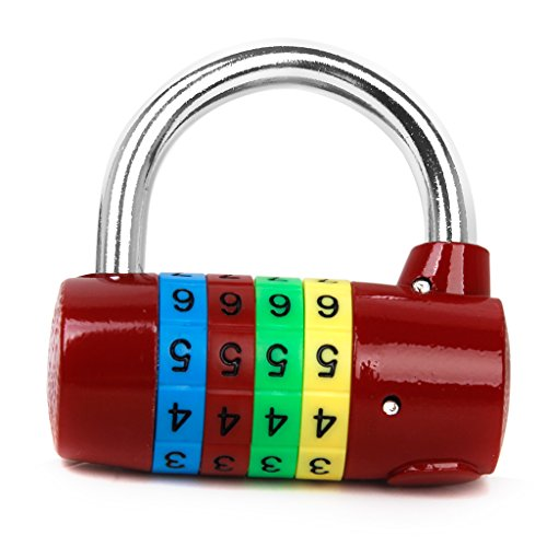 Générique Cadenas à Combinaison 4-Chiffres pour Valise Boîte à Outils Bagages