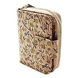Cartera de corcho vegano, diseño de cremallera pequeña con tarjetero, monedero de bolsillo ecológico para mujer, regalo vegano, Corcho 02 (Beige) - BOSHIHO-ZIP-PURSE-013MU