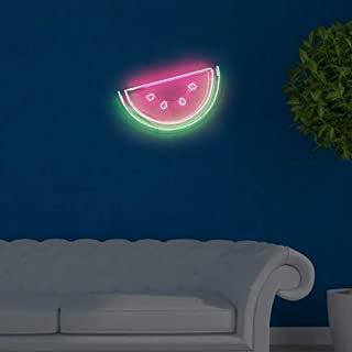 Watermelon Neon Signs Real Glass Beer Bar Pub Party Room Garage Home Wall Windows Display Handcraft Neon Light 22x13