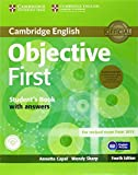 Objective First Student's Book Pack (Student's Book with Answers with CD-ROM and Class Audio CDs(2)) by Annette Capel Wendy Sharp(2014-03-17)
