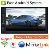 2019 New Designed For 2005-2015 Scion tC xA xB xD, Android System 7inch 1080P Touch Screen Double Din Bluetooth Car Stereo AM/FM Radio Receiver Car MP5 / MP4 / MP3 Player, Supports Mrrior Link Navigat