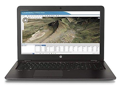 HP ZBook G3 15-Inch Notebook - (Black) (Intel i7-6500 Processor, 16 GB RAM, 256 GB SDD, AMD FirePro W4190M Graphics, Windows 7 Professional)