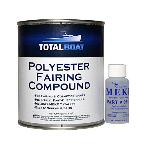 TotalBoat Polyester Fairing Compound (Quart Kit)
