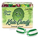 Kale Flavored Candy in 2.5 oz Collectible Tin!