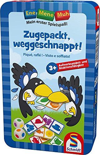 Schmidt Spiele 51293 - Ene Mene Muh, Zugepackt, weggeschnappt
