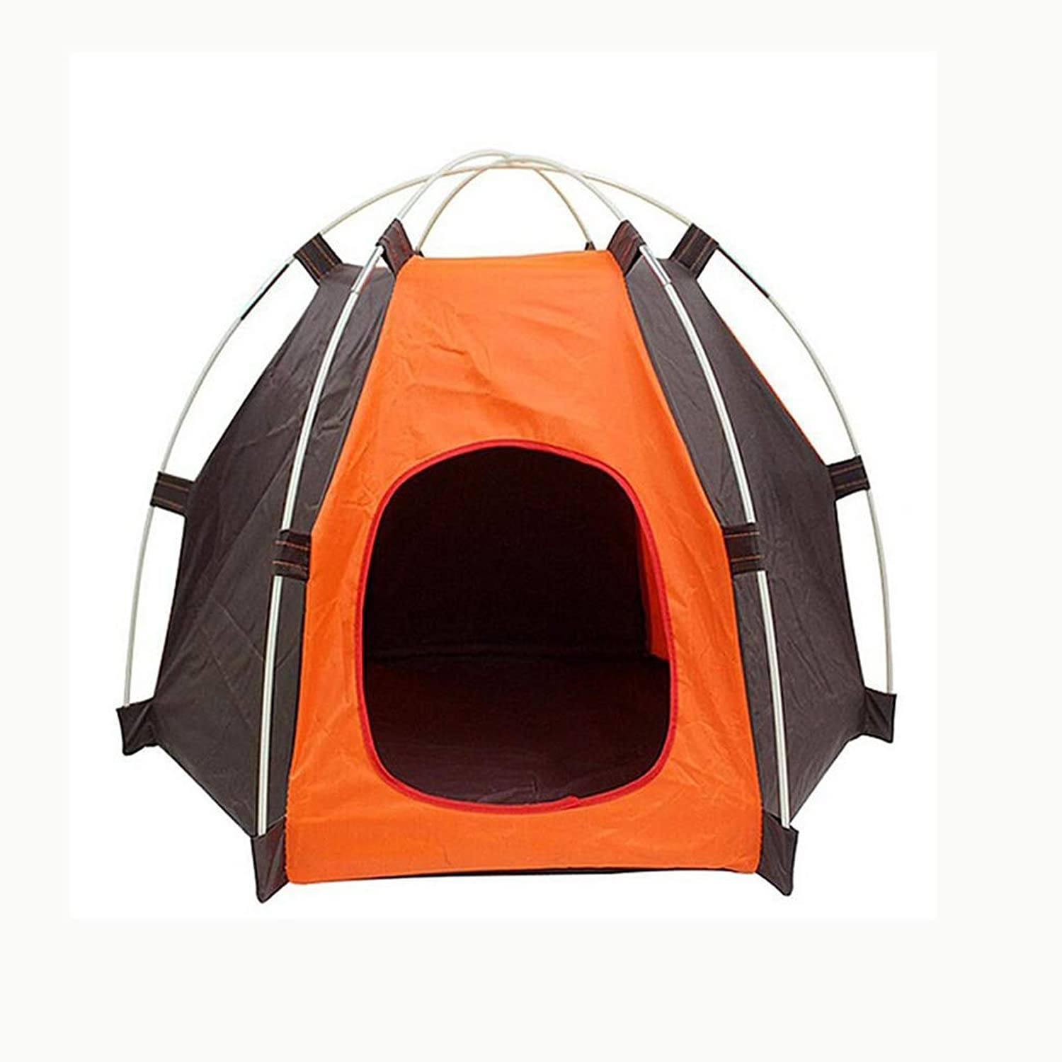 Folding Kennel Oxford Waterproof Tent Dog House Umbrella Outdoor Camping Home Travel House Pet Bird Nest Shelter Tent