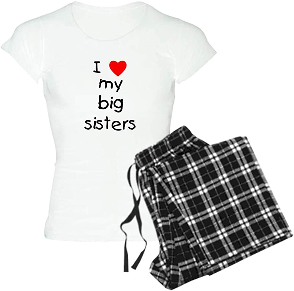 CafePress I Love My Women's Recommendation Brand new Sisters PJs Big