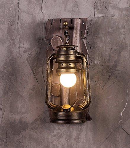 Retro Applique Creative Personnalité Restaurant Bar Lampe de table Iron Aisle Applique murale