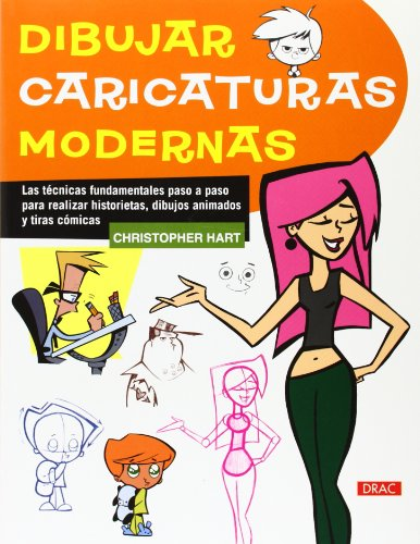 Dibujar Caricaturas Modernas (Preparado Para Pintar