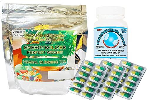 Energybolizer Orange Gel Caps, Now Called LS (Green & Yellow in Color), Slimming Tea & Advanced