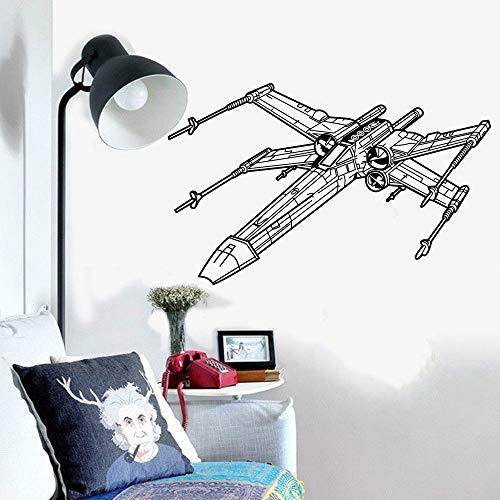 Ajcwhml Aplique de Vinilo Adhesivo Adhesivo de Pared niño Adolescente niño habitación Dormitorio decoración 57X36CM