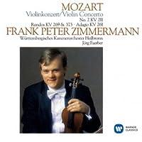 モーツァルト:ヴァイオリン協奏曲第2番、ロンド、アダージョ 他
