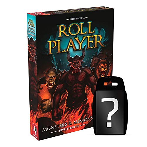 Roll Player - Monsters & Minions - Erweiterung | DEUTSCH | Set inkl. Kartenspiel