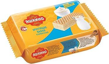 "Yashkino Wafers Creamy 200g Вафли ""Яшкино"" со сливочным вкусом"