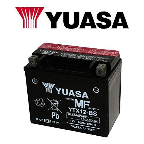 BATTERIA YUASA YTX12-BS 12 V 10 AH PER APRILIA SHIVER 750 2010/2016