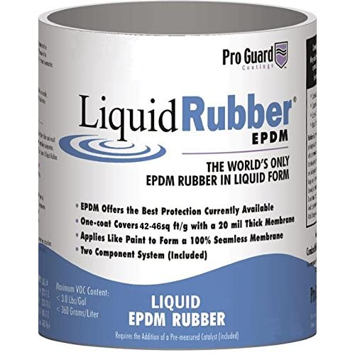 Liquid Rubber EPDM, 1 Gallon, White