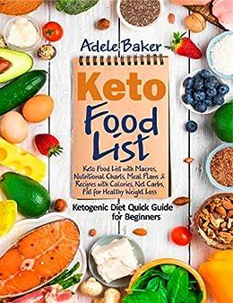 Keto Food List by Adele Baker ebook deal