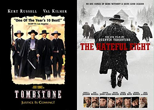 Laying Down The Law With Kurt Russell - Double DVD pack: Tombstone & The Hateful Eight