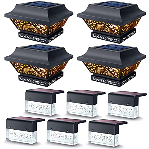 Post Lights 4 Pack + Deck Lights 6 Pack