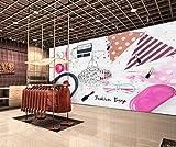Fotomural Fotomural cosmética de moda Paneles decorativos 3d -250cmx175cm