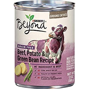 Purina Beyond Grain Free, Natural, Adult Ground Entrée Wet Dog Food