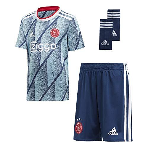 adidas Amsterdam Saison 2020/21 AJAX A Mini-Set 2. Ausrüstung, Unisex, AZUHIE, 92