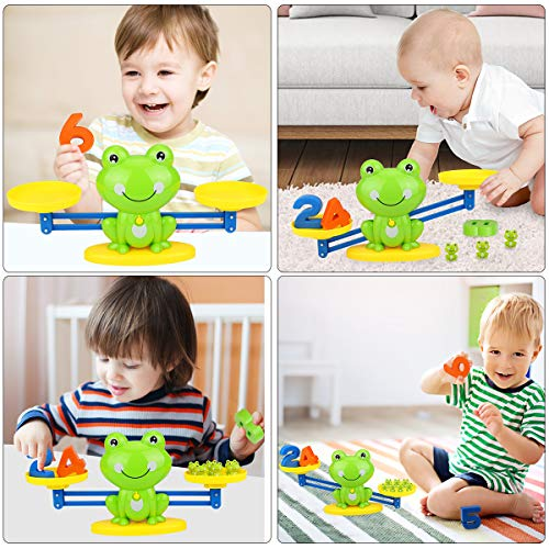 Aitbay Cool Math Game, Frog Balance Counting Toys for Boys