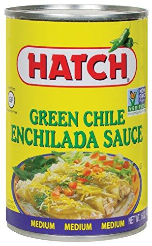 Hatch Green Chile Enchilada Sauce, Medium, 15 oz