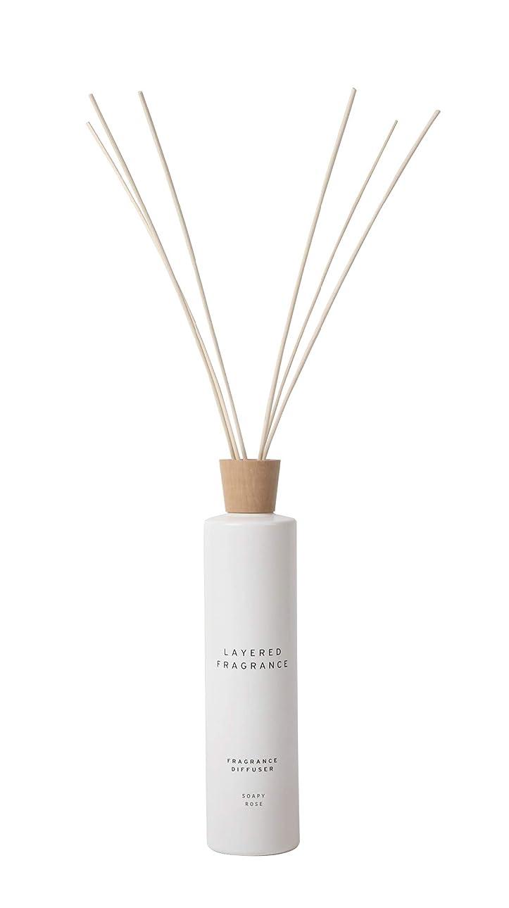 空間ごとに香りを使い分けて楽しむ レイヤードフレグランス フレグランスディフューザー ソーピーローズ 500ml