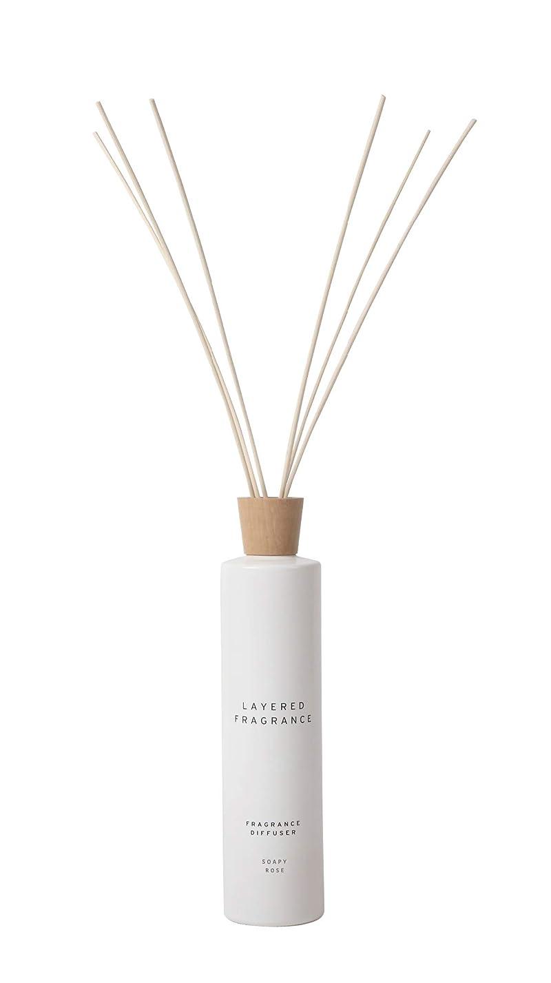 実行かもめロッド空間ごとに香りを使い分けて楽しむ レイヤードフレグランス フレグランスディフューザー ソーピーローズ 500ml