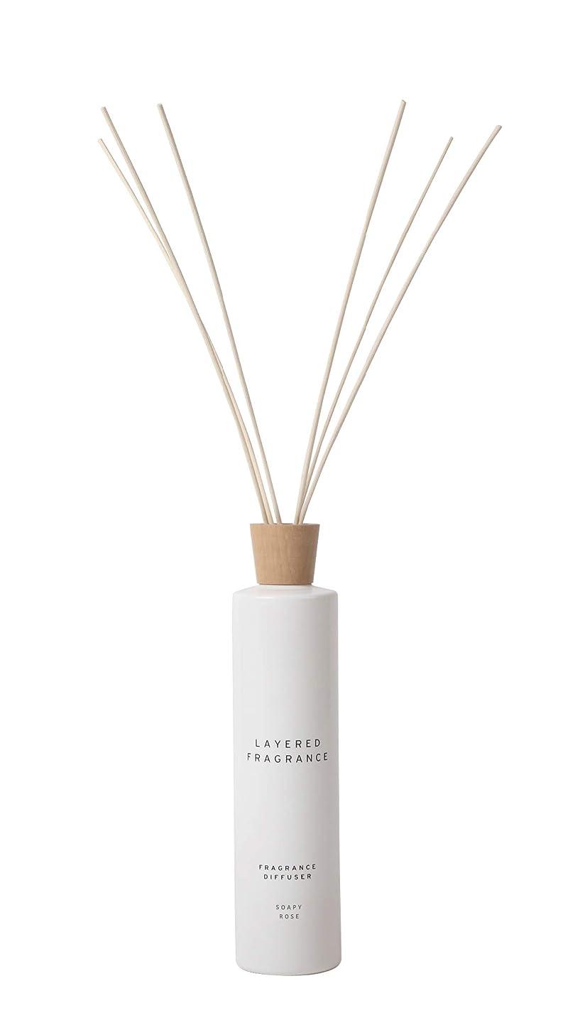 パラナ川食事バルク空間ごとに香りを使い分けて楽しむ レイヤードフレグランス フレグランスディフューザー ソーピーローズ 500ml