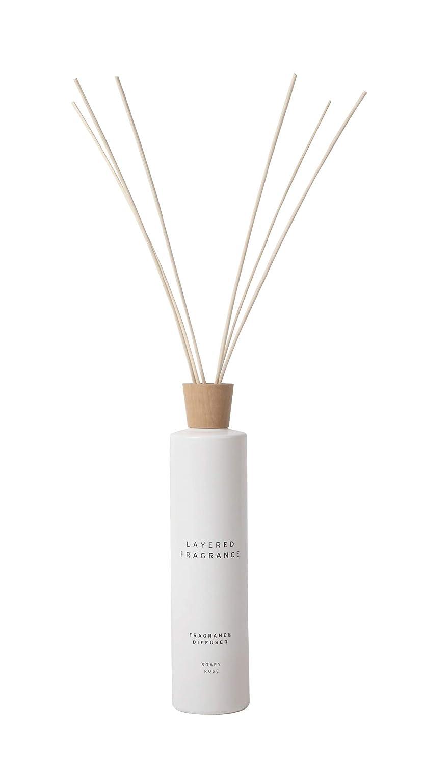 中間お手伝いさん経歴空間ごとに香りを使い分けて楽しむ レイヤードフレグランス フレグランスディフューザー ソーピーローズ 500ml