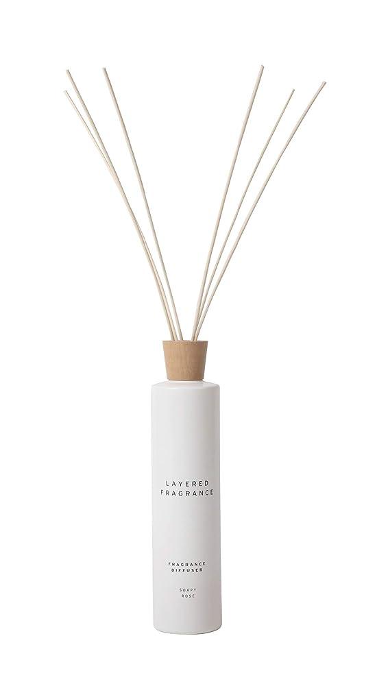 白いミニチュア後者空間ごとに香りを使い分けて楽しむ レイヤードフレグランス フレグランスディフューザー ソーピーローズ 500ml