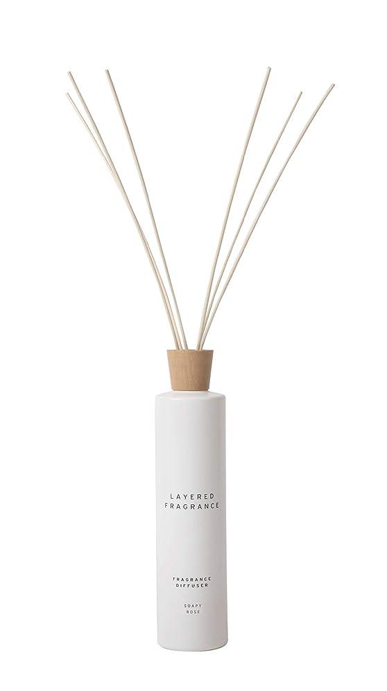 チョップレジとにかく空間ごとに香りを使い分けて楽しむ レイヤードフレグランス フレグランスディフューザー ソーピーローズ 500ml