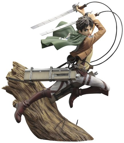Attack on Titan Eren Jaeger [1/8 scale] 【Japan import】