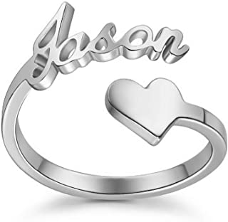 personalized nameplate rings