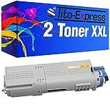 Tito-Express PlatinumSerie 2 Toner XXL nero per Oki C532 C532DN C 532 DN 532DN C542 C542DN C 542 DN 542DN MC563 MC563DN MC 563 DN 563DN MC573 MC573DN MC 573 DN MC 573 DN
