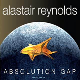 Absolution Gap audiobook cover art