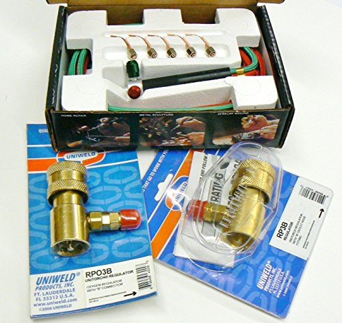 Smith Torch Kit with Regulators Jewelers Smith Little Torch Complete 23-1001 Set