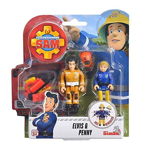 Feuerwehrmann Sam Elvis & Penny Spiel Figuren Set | Simba Toys