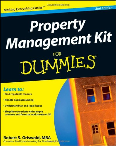Property Management Kit For Dummies (Book & CD)