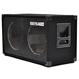 Seismic Audio - Empty 212 GUITAR SPEAKER CABINET - 2x12 PA/DJ PRO AUDIO - Loaded with everything but speakers. Includes grill, wire, jack plates, handles, etc.
